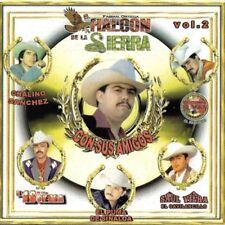 El Halcon de la Sierra Con Sus Amigos Vol.2  CD New
