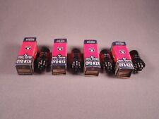 4 6SC7 KEN-RAD Antique Radio HiFi Amplifier Vacuum Tubes Matching Codes 617 NOS