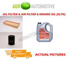 PETROL OIL AIR FILTER KIT + FS 5W40 OIL FOR FIAT PUNTO 1.2 80 BHP 1999-06