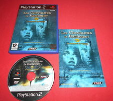 Playstation PS2 Les Chevaliers de Baphomet Le Manuscrit de Voynich [PAL Fr] *JRF