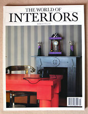 The World of Interiors magazine March 1991