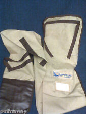 Republic Airlines - Canvas SKI Carrier / Bag - NICE!