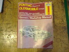Pontiac Phoenix & Oldsmobile Omega 1980 - 1984 yr. owners manual