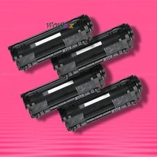 4 Non-OEM Alternative TONER for HP Q2612A 12A LaserJet 3015 3020 3030