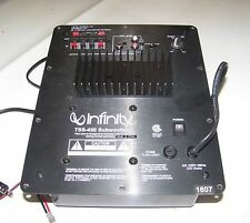 Infinity TSS-450 Powered Subwoofer Amplifier Plate Repair Service