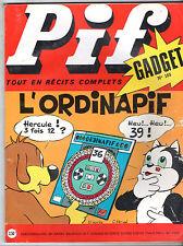 -°- PIF GADGET n°185 -°- 09/1972 -°- LOUP NOIR / DR JUSTICE