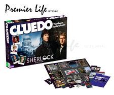 Cluedo SHERLOCK Edition Classic Mystery Board Game