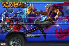 War Of The Realms 1 Marvel 1:10 Greg Horn Van Painting Variant Thor Avengers