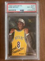 Kobe Bryant 1996  Metal Fresh Foundation PSA 8.5  #137 Rookie HOF INVEST POP 649