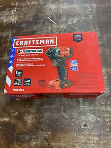 "Craftsman CMCF820B V20 Lithium ion Brushless 1/4"" Impact Driver - New!!!"