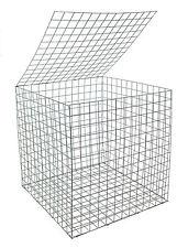 EcoGrid Gabion Basket 0.55 x 0.55 x 0.55m :: 5 Pack :: Discount :: Postage Deal