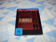 Django Unchained - Steelbook [Blu-ray] NEU OVP Christoph Waltz, Jamie Foxx