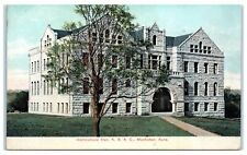 Early 1900s Horticultural Hall, Kansas State Ag. College, Manhattan, KS Postcard