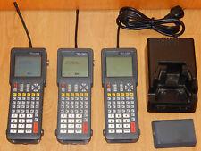 3x PSION Teklogix 7025 portatif scanner Batterie Station De Poche Terminal PC