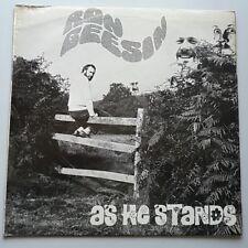 Ron Geesin - As He Stands Vinyl LP UK 1st Press Trans Red 1973 Prog Pink Floyd