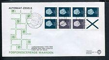 FDC met postzegelboekje PB 7F, Philato, blanco met open klep