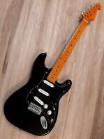 2020 Elite® Guitar Turbo w/Hot MODs Black Classic Strat Gilmour Style SSS BLEM
