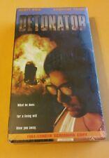 DETONATOR 1998 SCOTT BAIO VHS DEMO TAPE PROMO Screener, for Video Retailers ONLY