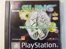 !!! PLAYSTATION ps1 gioco Swing Total mindcontrol, usati ma ben!!!