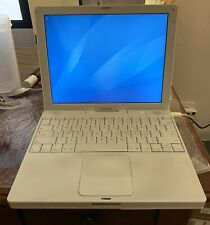 "Apple iBook A1133 12.1"" Notebook/Laptop w/ PowerPC G4 1.33Ghz 1GB RAM 40GB HDD"