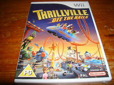 THRILLVILLE OFF THE RAILS ** NEW & SEALED ** Nintendo Wii Game