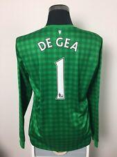 DE GEA #1 Manchester United Goalkeeper Shirt Jersey 2012/13 (L)
