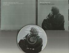 The Verve RICHARD ASHCROFT A Song for lovers 3TRX USA PROMO Radio DJ CD single