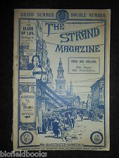 The Strand Magazine; June 1898 - Conan Doyle, L T Meade,  Postmen, W W Jacobs