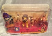 NEW Disney The Lion King 2019 Movie 5 Piece Deluxe Figure Toy Set