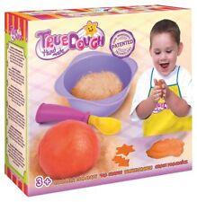 TrueDOUGH - Make Your Own Modelling Dough Play Doh Set - Single Yam Orange