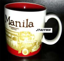 2008 STARBUCKS MANILA CITY MUG  16 OZ LIMITED EDITION *JEEPNEY* DISCONTINUED