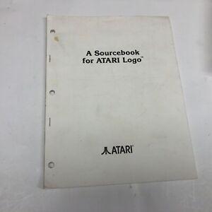 Atari 520ST A Sourcebook for ATARI Logo 1985 Vintage computing Very Nice ST