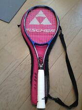 Rare Fischer Vacuum Pro Mid Size 90 Stich Wimbledon Tennis Racket L3 4 3/8