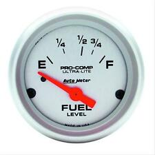 "AU4315   AutoMeter Ultra-Lite Fuel Level Gauge 2-1/16"" electrical"