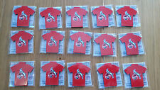 15 Magnete 1. FC KÖLN - Fußball Bundesliga Pins Trikot Fan Zubehör
