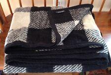 Vintage Herman Miller 100% Wool Blanket December 1992