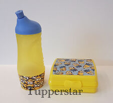 Tupperware Set Minions Duo Kleiner Sportfreund 415 ml + Sandwichbox