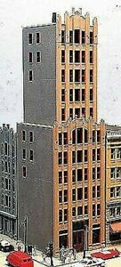 LUNDE STUDIOS HO SCALE FALCON TOWER BUILDING KIT BN 23
