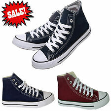 VARIOUS HI TOP CANVAS BASEBALL BOOTS TRAINERS BNIB SIZE UK 5 6 7 8 9 10 11 12