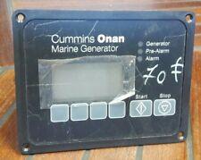 Panneau de commande Cummins Onan Marine Generator 300-6018