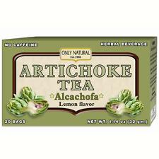 ONLY NATURAL - Artichoke Tea Lemon - 20 Tea Bags