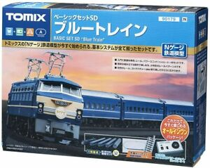 NEW TOMYTEC 90179 N Gauge Basic Set SD Blue Train 90179 Model Train