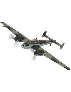 Messerschmitt VJ+OQ Rudolf Hess Eaglesham Scotland (1941) Diecast Model Airplane
