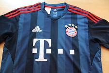 @ Orginal ADIDAS FC Bayern München Trikot  Gr. 176 @ TOP @ Blau T-Shirt Fußball