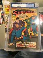 Superman #200 CGC, Grade 3.5, 10/1967, DC Comics, Complete 3-Part Novel