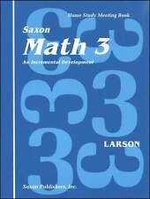 Grade 3 Saxon Math Home Study Meeting Book Homeschool Student Edition 3rd