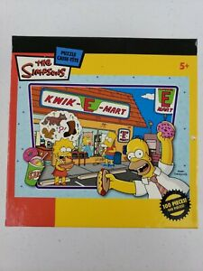 """THE SIMPSONS KWIK E MART 100 PIECE DINNER WITH DAD JIGSAW PUZZLE 11.5"""" x 16.25"""""""