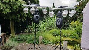 DMX Lichtanlage Partybeleuchtung Studio mobile Disco Event Anlage