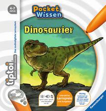 tiptoi Dinosaurier Pocket Wissen 4-7 Jahre Ravensburger interaktiv + BONUS