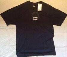 T-SHIRT Uomo Oakley Navy Blue Uomo Regular Fit Nuovo T-shirt Taglia L (a-107)